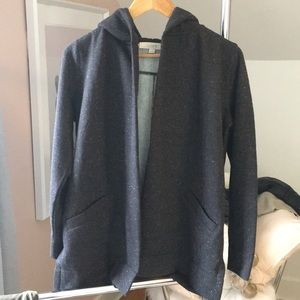 Ann Taylor LOFT Hooded Cardigan